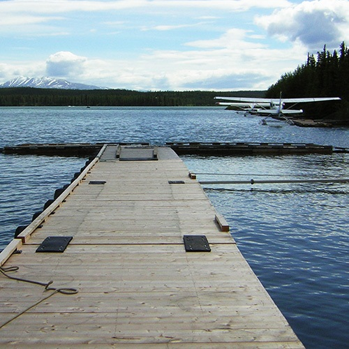 Schwatka Lake Dock