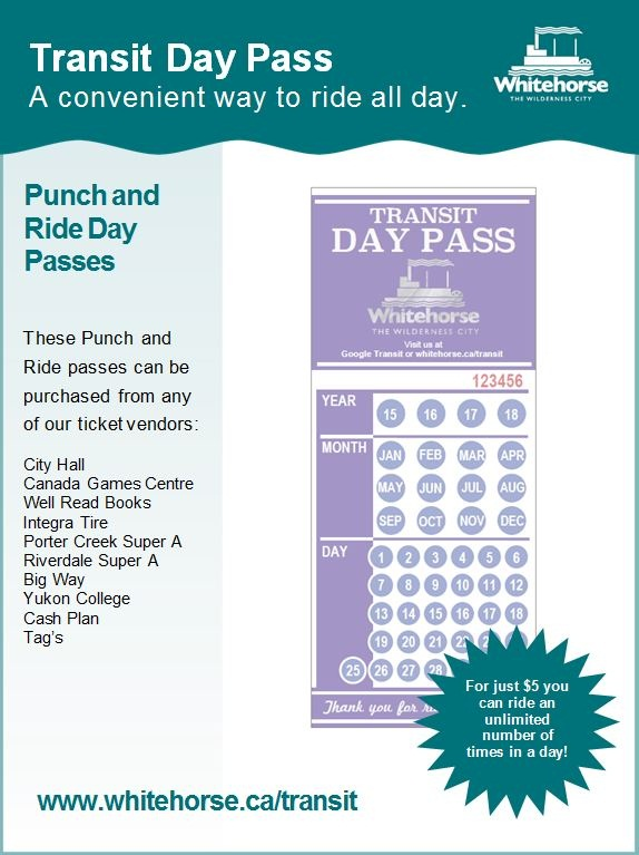Transit Day Pass