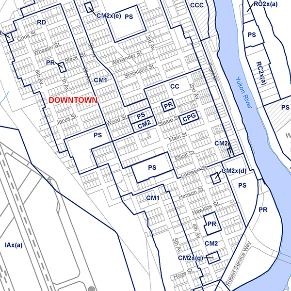 Map 14 Downtown square