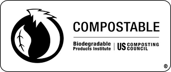US composting council bag label