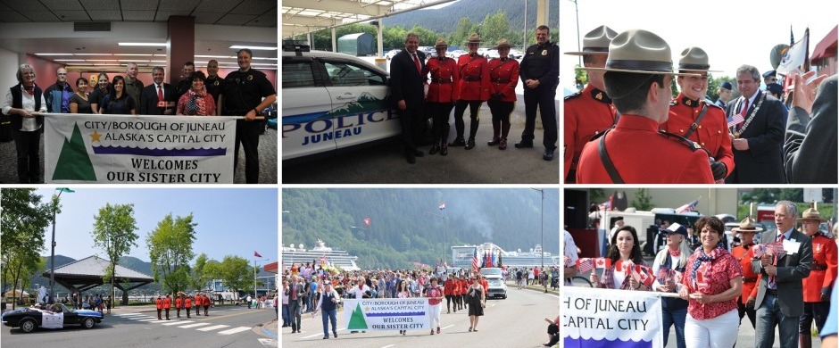 Juneau Sister City Visit July 2015