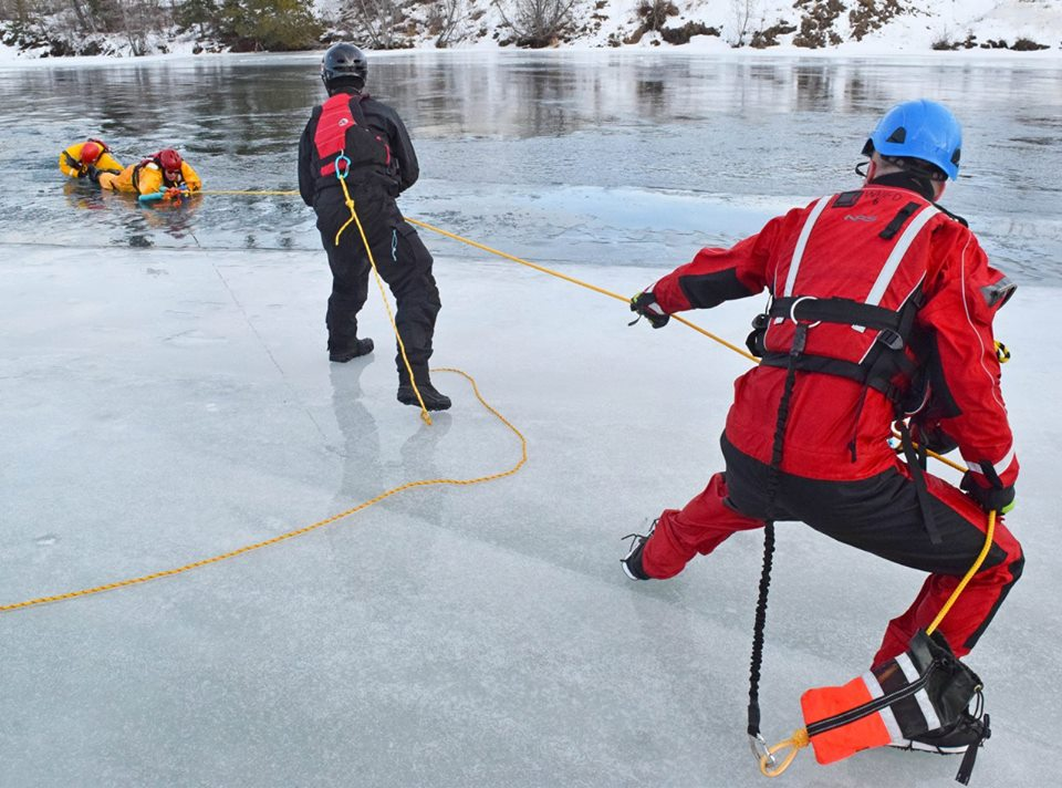 Ice safety training