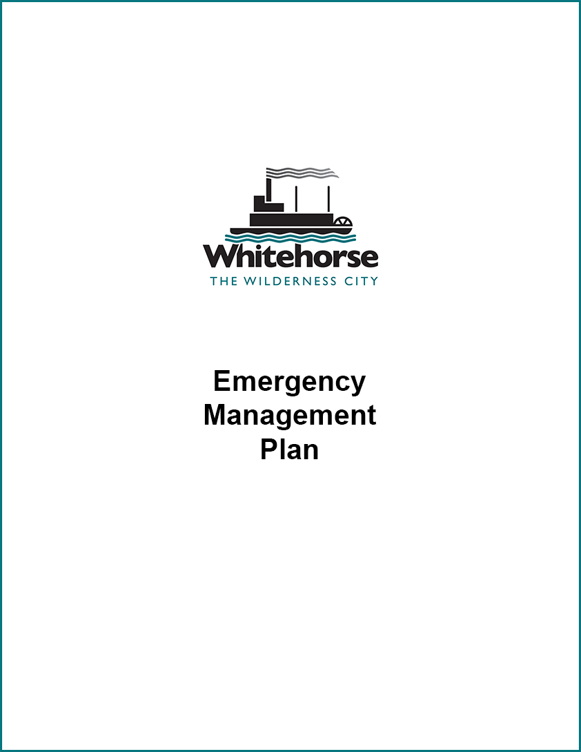 Emergency Master Plan Cover