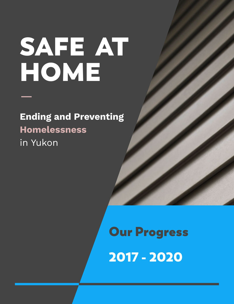 Safe at Home - Progress Report July 2020 Cover