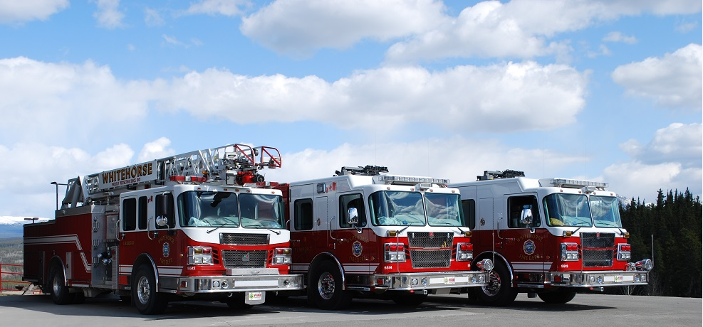 Fire Dept 3 Trucks