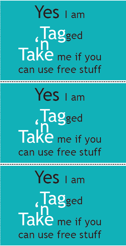 Tag'n'Take Tags
